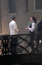 Hayley Atwell Gets intense while filming a fight scene on the set of
