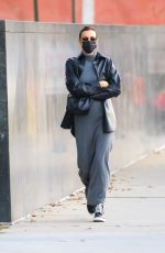 Irina Shayk Looks stylish in a monochrome ensemble while out and about in the Big Apple, New York
