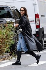 Irina Shayk Out & about looking stylish in New York