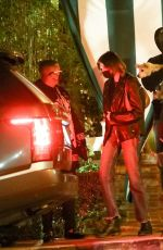 Jacob Elordi & Kaia Gerber Seen leaving dinner at San Vicente Bungalows in West Hollywood