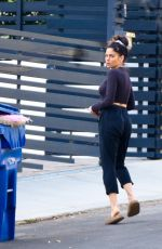 Jenna Dewan Out in casual fashion for a walk in the hills