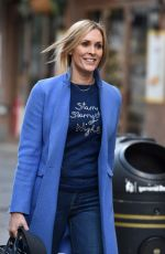 Jenni Falconer Pictured leaving the Global studios after her Smooth Radio show in London