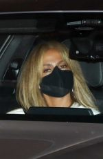 Jennifer Lopez Leaves Sunset Tower Hotel in West Hollywood