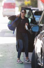 Jordana Brewster All smiles as she is spotted heading out in Santa Monica