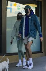 Kaia Gerber and Jacob Elordi stop by Earth Bar