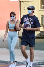 Kaia Gerber Leaving a gym in NYC