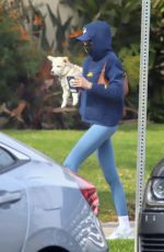 Kaia Gerber Seen getting smoothies after a workout in West Hollywood