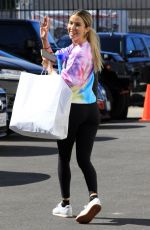 Kaitlyn Bristowe Seen at the DWTS studios in Los Angeles