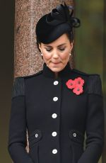 Kate Middleton At Remembrance Sunday Service in London