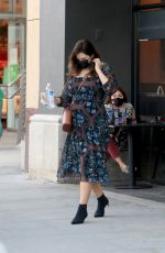 Katharine McPhee Enjoys some early Christmas shopping in Beverly Hills