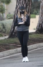 Katherine Schwarzenegger Lets her hair down for a long walk in Santa Monica