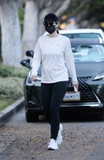 Katherine Schwarzenegger Wears Lyla Maria Necklace On Her Walk