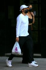 Katie Holmes Seen out in New York