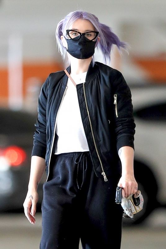 Kelly Osbourne Gets an early start on her Xmas shopping at the Beverly Connection in Beverly Hills