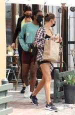 Kendall Jenner & Hailey Baldwin Out for lunch in West Hollywood