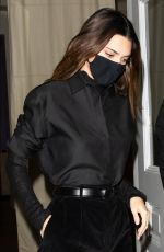 Kendall Jenner Is ninja chic in an all-black ensemble as she steps out for dinner in NYC