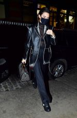 Kendall Jenner Returning from shooting Matthew Williams' first Givenchy campaign in NYC