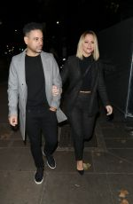 Kimberley Walsh Pictured at Proud Embankment in London
