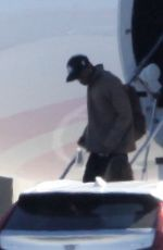 Kylie Jenner and Travis Scott Return From Palm Springs Thanksgiving