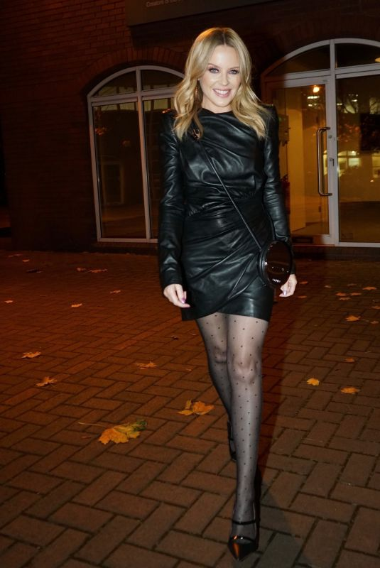 Kylie Minogue Out in London