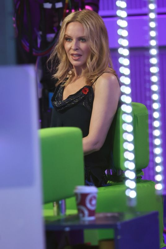 Kylie Minogue Promotes her new album on The One Show in London