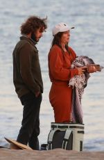 Leighton Meester & Adam Brody Have a romantic afternoon without their 2 kids ahead of Thanksgiving celebrations in Malibu