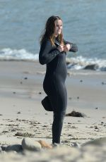 Leighton Meester Wraps Up a Day Surfing in Malibu