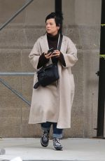 Lily Allen Out for a stroll in Manhattan
