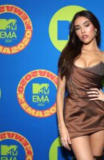 Madison Beer At MTV European Music Awards 2020 in LA