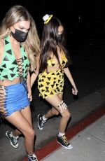 Madison Beer Out for Halloween in West Hollywood