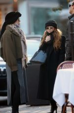 Mary-Kate Olsen Is spotted out with friends in New York