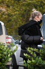 Miley Cyrus Spotted out after a grocery store run in Studio City
