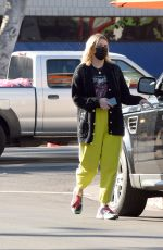 Mischa Barton Is seen running errands and picking up food to go in Los Angeles