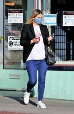 Mischa Barton Steps out to buy some flowers at the market before making a stop to get a afternoon caffeine fix in LA