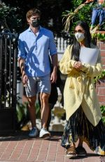 Nicole Scherzinger and Thom Evans Go House Hunting in Los Angeles