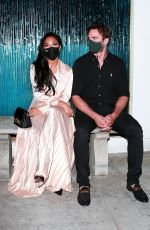 Nicole Scherzinger Looked like a dream in a champagne silk dress while enjoying her date night in Beverly Hills