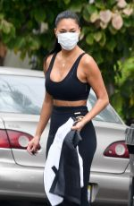 Nicole Scherzinger Spotted after gym workout in Los Angeles