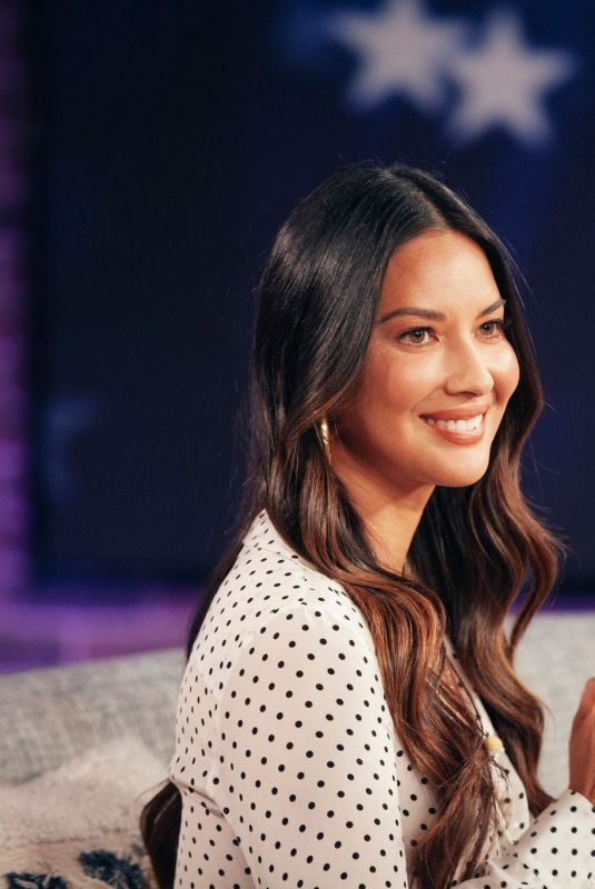 Olivia Munn At The Kelly Clarkson Show