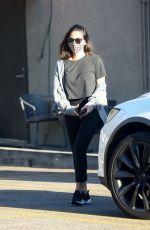 Olivia Munn Leaving the gym after her daily workout in Los Angeles