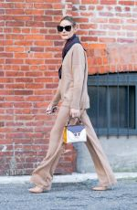 Olivia Palermo Pictured on a Stroll in New York City