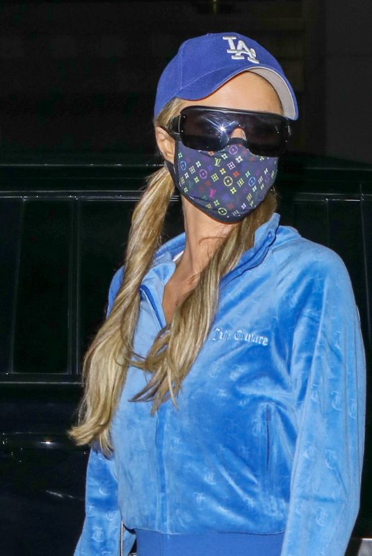 Paris Hilton Arriving at LAX airport in Los Angeles