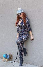 Phoebe Price Stops to strike a pose while shopping in Hollywood