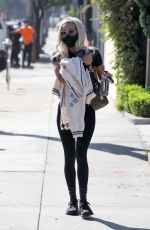 Pia Mia Displays her slim body and ripped abs after her daily workout at Dogpound gym in Los Angeles