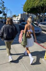 Pia Mia Keeps it casual while out running errands with a friend in West Hollywood