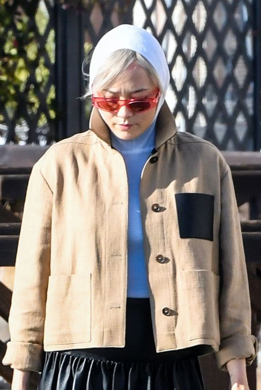 Pom Klementieff Out and about in Venice