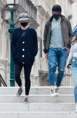 Pom Klementieff Out in Venice, Italy