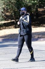 Rebel Wilson Goes for a hike at Griffith Park in Los Feliz