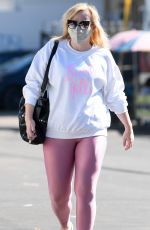 Rebel Wilson Shows off her trimmer figure while stepping out in Los Angeles