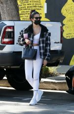 Sara Sampaio Heads to the gym with friends in Los Angeles