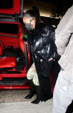 Saweetie Arrives at the PrettyLittleThing launch dinner in West Hollywood